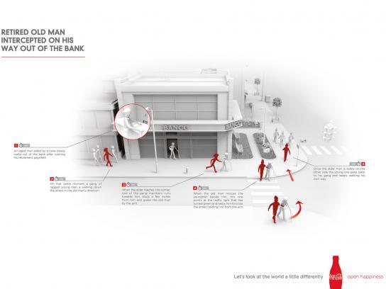 Coca-Cola Print Ad -  Interception