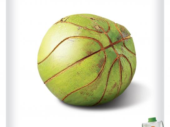 Coco Fresh Print Ad -  Basketball