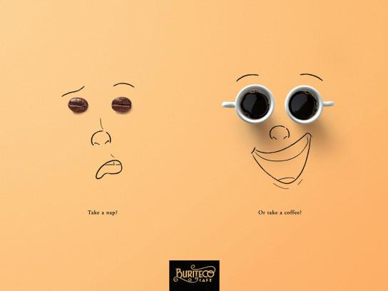 Buriteco Cafe Print Ad - Take A Nap?, 2
