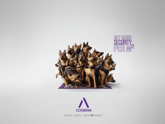 Cogedim Print Ad - Security