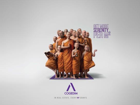 Cogedim Print Ad - Serenity