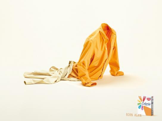 Coloria Print Ad -  Yellow