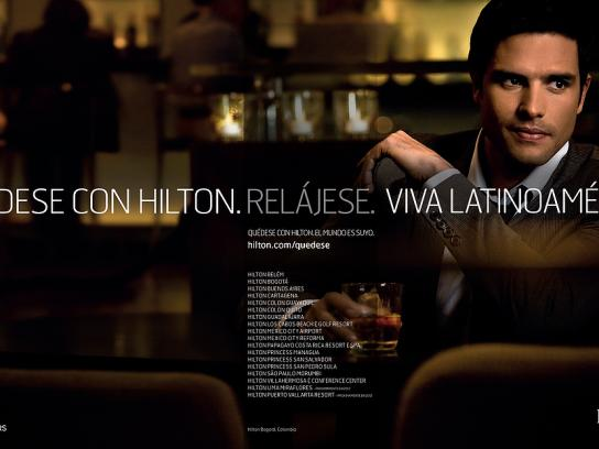 Hilton Print Ad -  Columbia