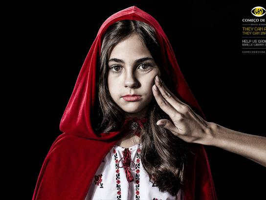 Começo de Vida Print Ad -  Little Red Riding Hood