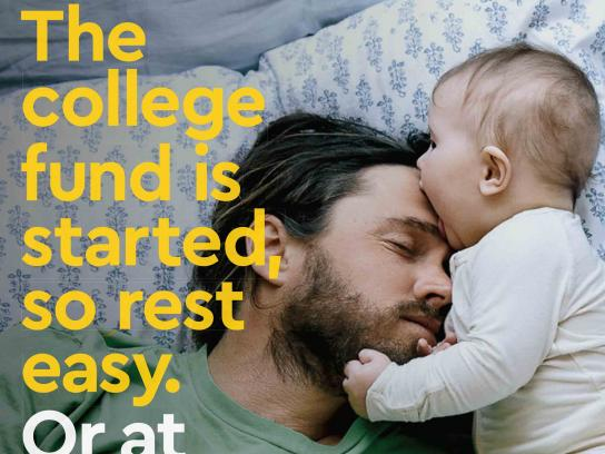 Commerce Bank Print Ad - Baby