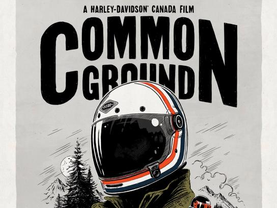 Harley-Davidson Outdoor Ad - Common Ground, 2
