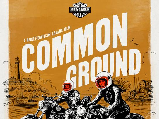 Harley-Davidson Outdoor Ad - Common Ground, 4