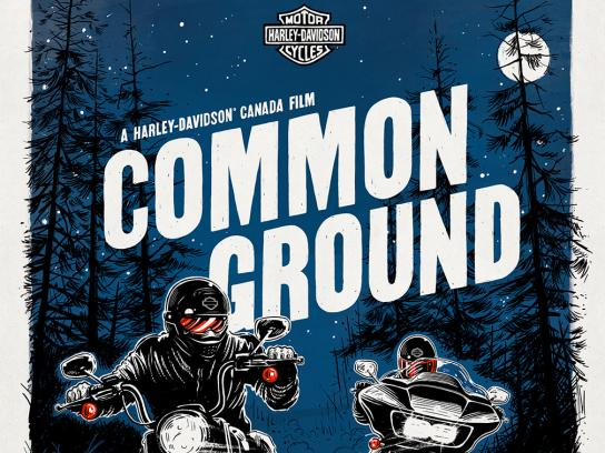 Harley-Davidson Outdoor Ad - Common Ground, 5