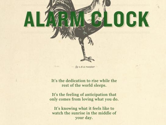John Deere Print Ad -  No Shortcut, Rooster