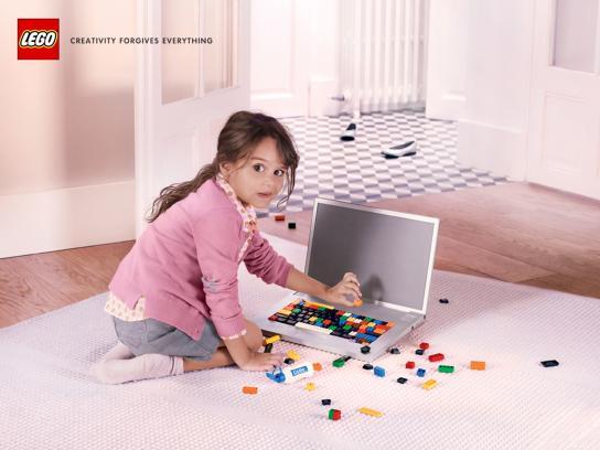Lego Print Ad -  Computer