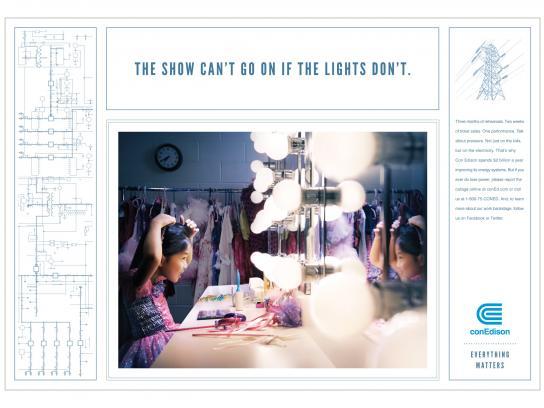 Con Edison Print Ad -  Show