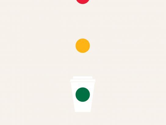 Starbucks Print Ad - Starbucks and Go