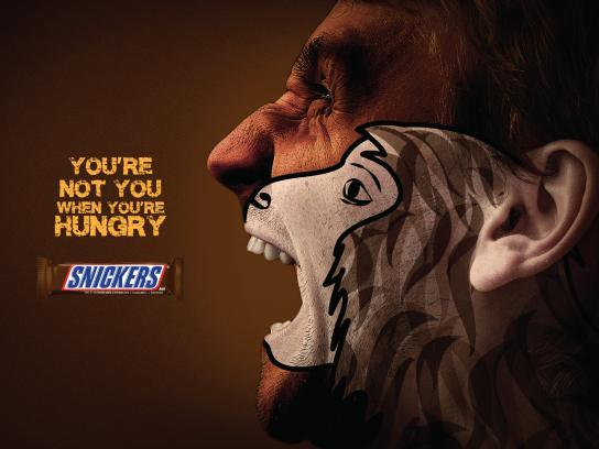 Snickers Print Ad - Snickers, 2