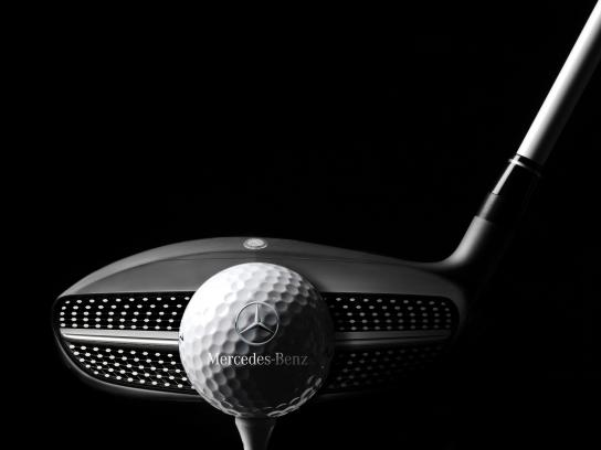 Mercedes-Benz Digital Ad - World Cup of Golf