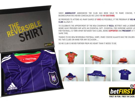 Betfirst Direct Ad - The Reversible Shirt