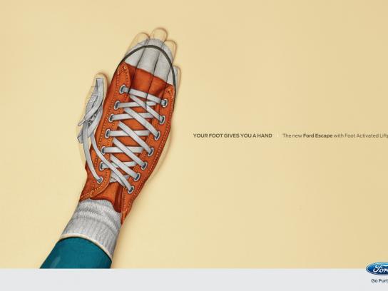 Ford Print Ad -  Converse