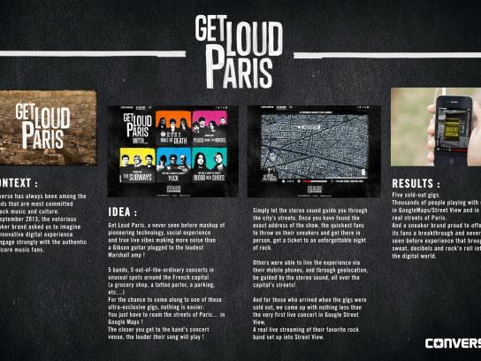 Converse Digital Ad -  Get Loud Paris