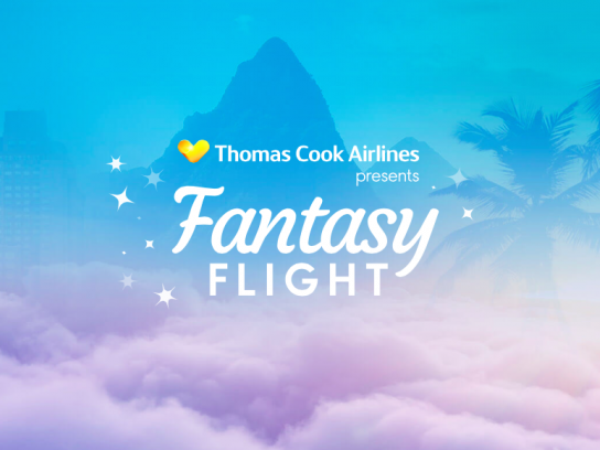 Thomas Cook Airlines Digital Ad -  Fantasy Flight