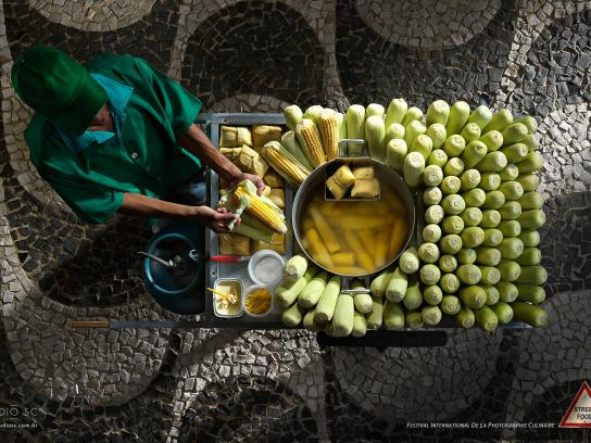 Festival International de la Photographie Culinaire Print Ad -  Street Food, 2