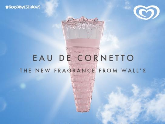 Wall's Print Ad -  Eau De Ice Cream, 1