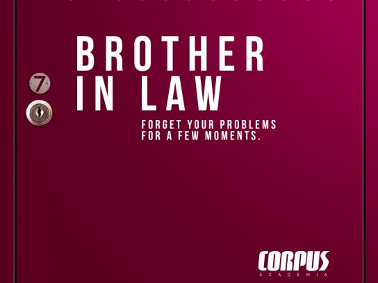 Corpus Academia Print Ad - Brother in law