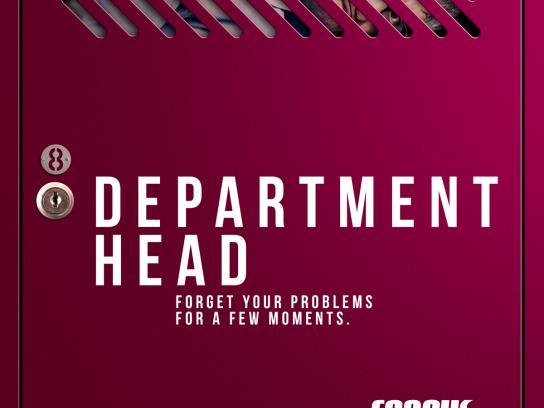 Corpus Academia Print Ad - Department Head