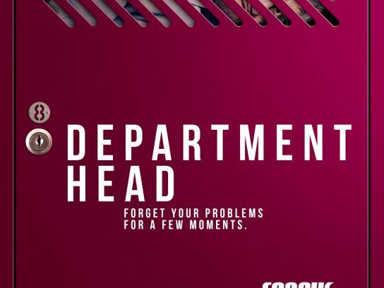 Corpus Academia Print Ad - Department Head