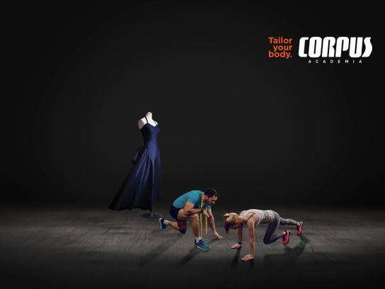 Corpus Academia Print Ad - Dress