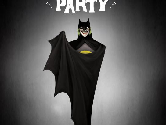 Baby Beef Jardim Print Ad -  Costume Party, Joker