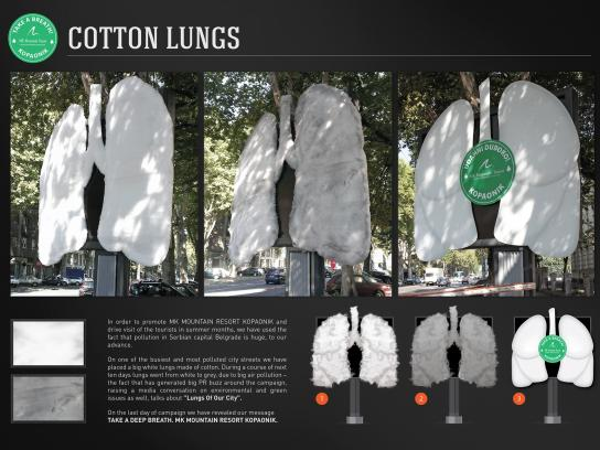 MK Mountain Resort Ambient Ad -  Cotton lungs