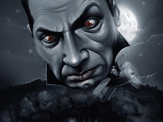 Tabard Print Ad -  Count Dracula