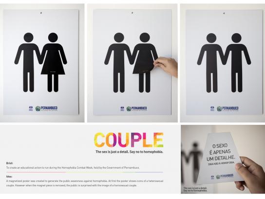 Governo de Pernambuco Ambient Ad -  Couple