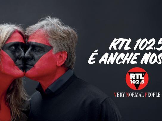 RTL 102.5 Print Ad -  Couple