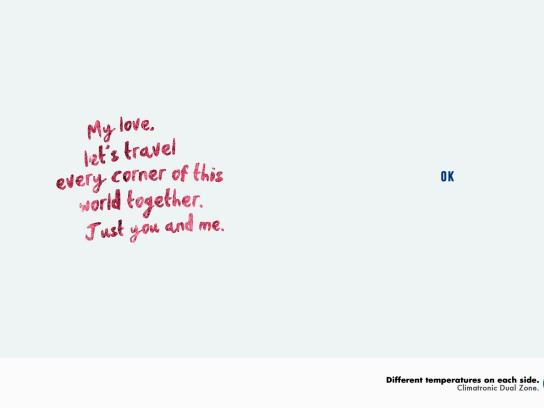 Volkswagen Print Ad -  Couple, 3