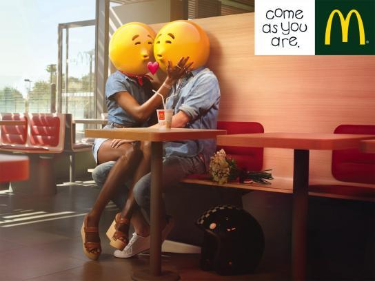 McDonald's Print Ad -  Couple