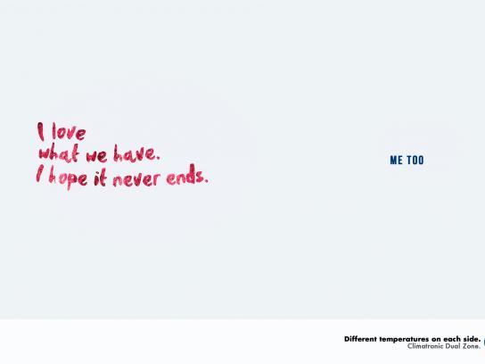 Volkswagen Print Ad -  Couple, 1