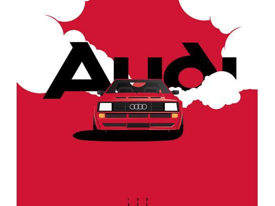 Audi Print Ad - Audi Heritage Poster Series, 5