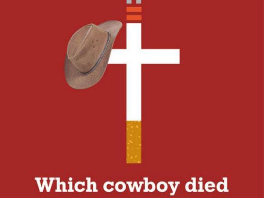 Neputmiglu Print Ad -  Cowboy