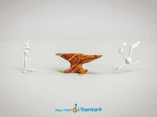 Pharma+ Print Ad - Coyote