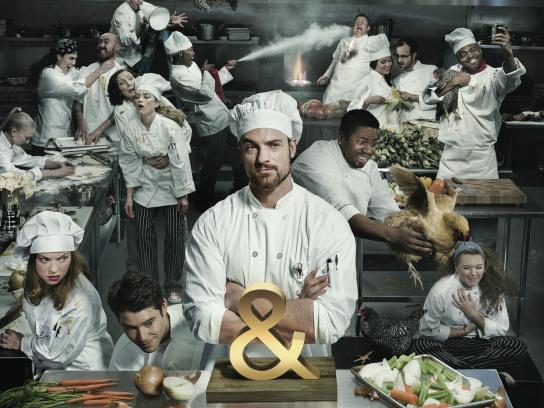 Partner Awards Print Ad -  Many cooks