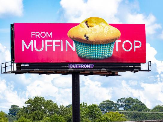 Chattahoochee Plastic Surgery Outdoor Ad - Muffin Top to Hot Muffin