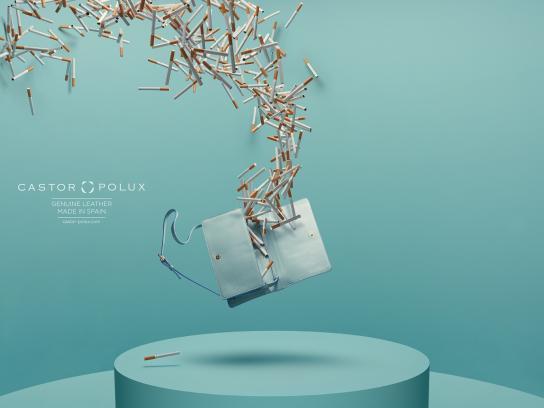 Castor Polux Print Ad -  Cigarettes