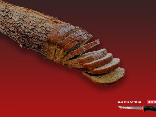Craftsman Tools Print Ad - Loaf