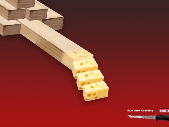 Craftsman Tools Print Ad - Cube