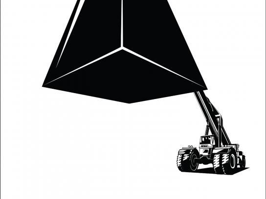 Khaitan Print Ad - Crane