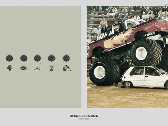 Magic Sound Print Ad -  Crash