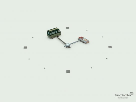 Bancolombia Print Ad -  Crash