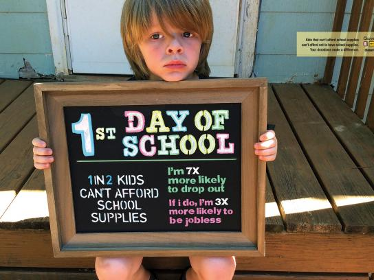 Classroom Central Outdoor Ad - Back to school, 2