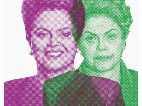 El Cronista Print Ad - Dilma
