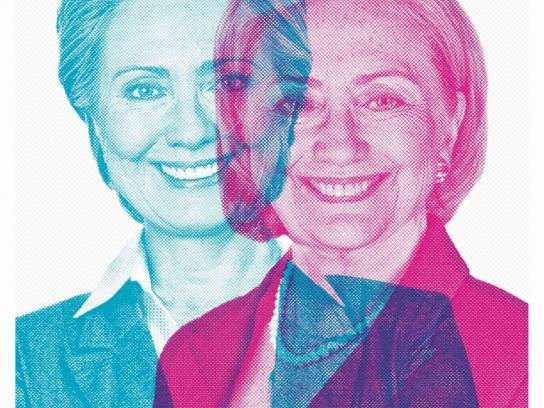 El Cronista Print Ad - Hillary